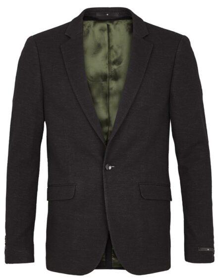 Junk de Luxe Blazer – Knitted Wool Blazer Black