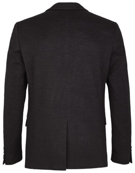Junk de Luxe Blazer - Knitted Wool Blazer Black