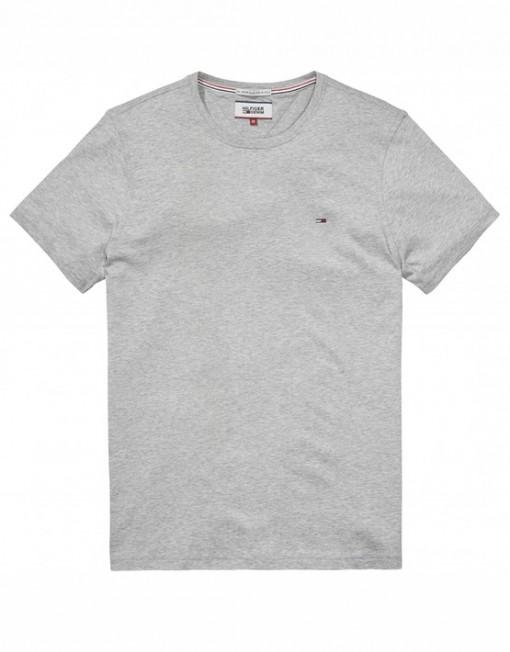 Hilfiger Denim Basic T-Shirt - Grey Heather