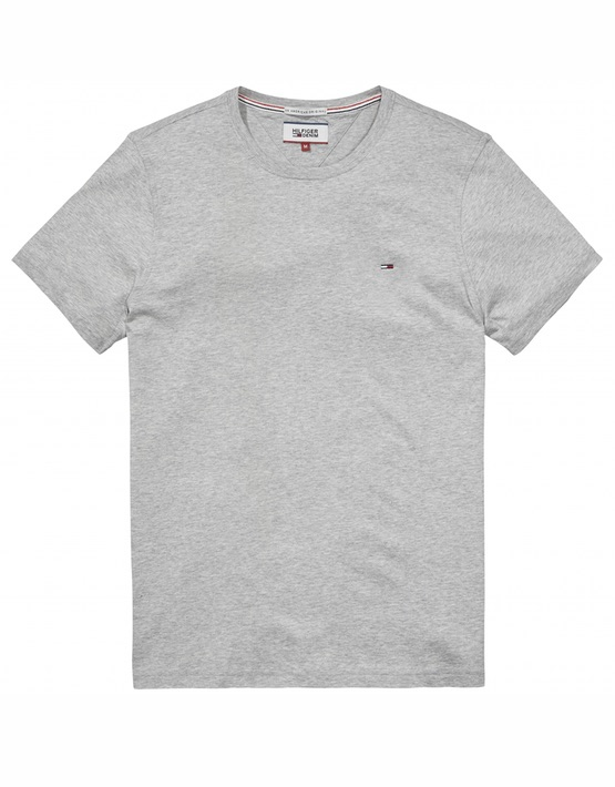 Hilfiger Denim Basic T-Shirt - Grey Heather