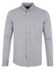 Junk de Luxe Skjorte - Cotton Linen Shirt Grey