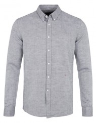 Junk de Luxe Skjorte – Cotton Linen Shirt Grey