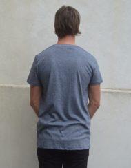 Samsøe Samsøe Kronos T-Shirt Multi Blue White Melange