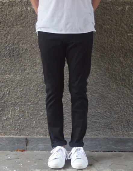 Samsøe Samsøe Jeans Slim – Stefan Black Rinse