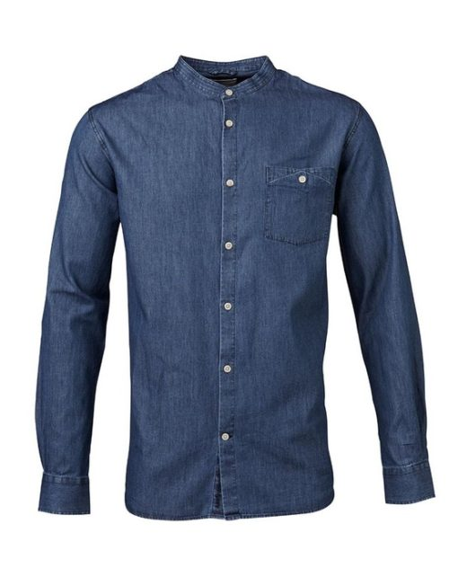 Knowledge Cotton Apparel Denim Skjorte