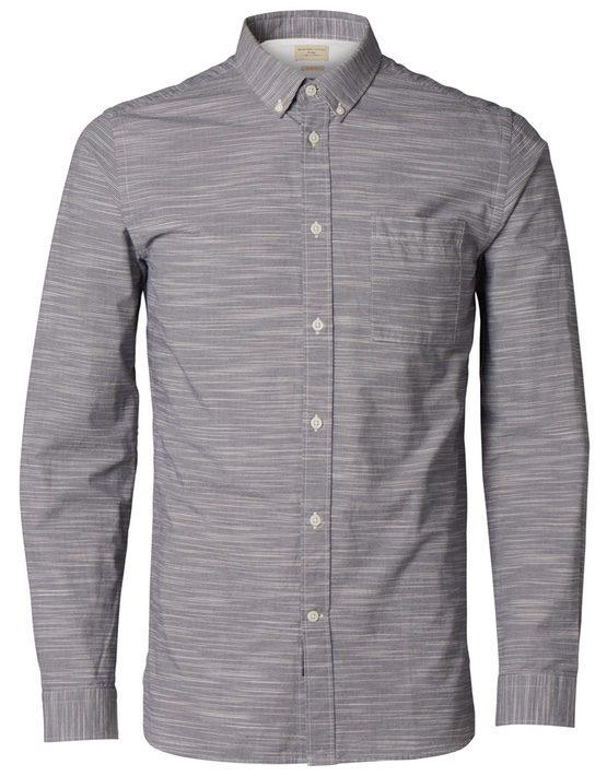 Selected Skjorte - Blueberry Stripe
