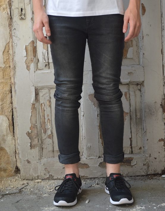 Just Junkies Jeans - Crystal Midnight Black 608