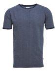 Knowledge Cotton Apparel Jaquard T-Shirt