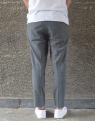 Samsøe Samsøe Buks - Laurent Pants 6568 Dark Grey Melange