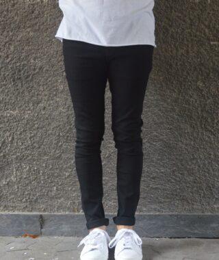 Samsøe Samsøe Jeans Skinny – Travis Black Rinse