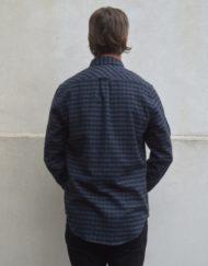 Samsøe Samsøe Skjorte - Liam CV 5158 Blue Check