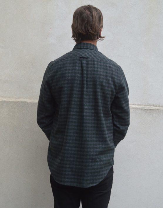 Samsøe Samsøe Skjorte - Liam CV 5158 Forest Night Check