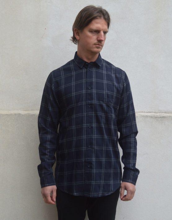 Samsøe Samsøe Skjorte - Liam DB 7127 Grey Check