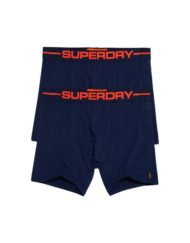 Superdry Boxers – Black Orange
