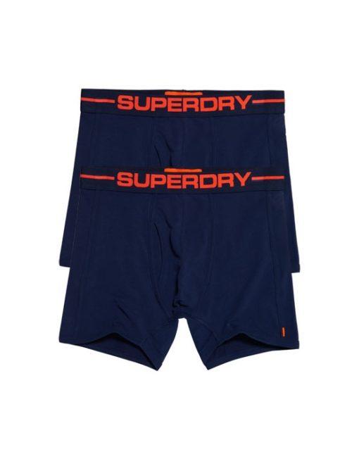 Superdry Boxers - Black Orange