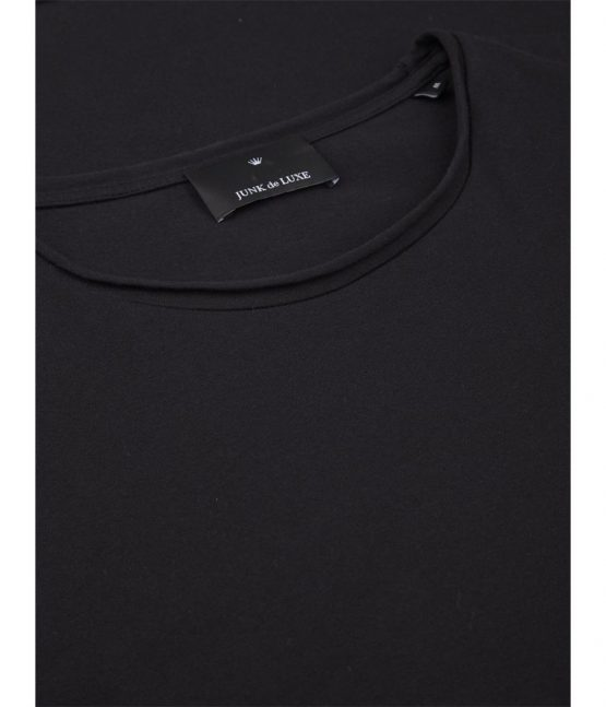 Junk de Luxe T-Shirt - Raw Organic Black