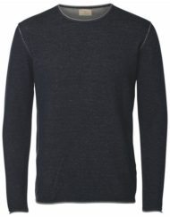 Selected Strik – SHNKLOP Crew Neck – Navy