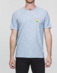 RVLT T-Shirt - 1857 DRI BRIGHT BLUE DRINKS
