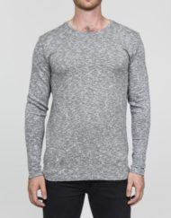 RVLT T-Shirt – 1881 TEE L/S GREY