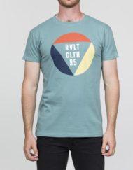 RVLT T-Shirt – 1853 TRI Tee Print Dustgreen
