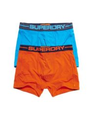 Superdry Boxers – Hawaii Blue 2 pack