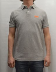 Superdry Polo – Classic Polo Light Grey