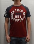 Superdry T-Shirt - Trackster Baseball