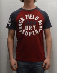 Superdry T-Shirt – Trackster Baseball