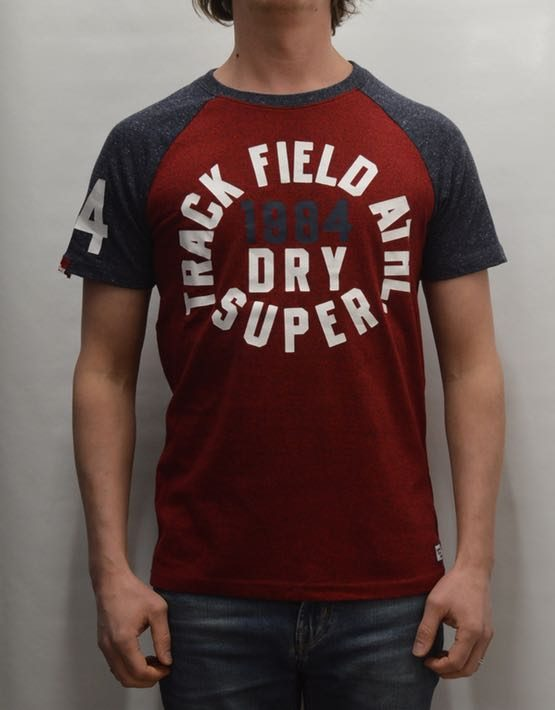 Superdry T-Shirt - Trackster Baseball