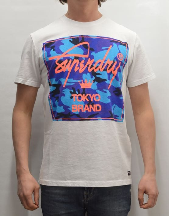 Superdry T-Shirt - City Brand Camo