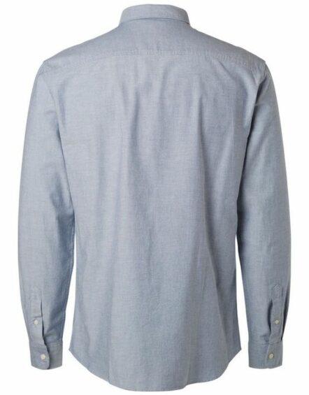 16040493 Selected Skjorte - Dusty Blue | GATE 36 HOBRO