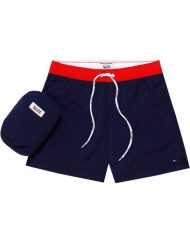 DM0DM02132002 | HILFIGER DENIM – Badeshorts ColorBlock Navy | GATE 36 Hobro