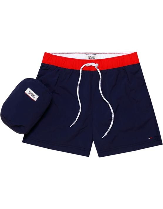 DM0DM02132002 | HILFIGER DENIM - Badeshorts ColorBlock Navy | GATE 36 Hobro