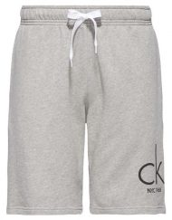 Calvin Klein – Terry Sweat Shorts Grey Heather | GATE 36 HOBRO