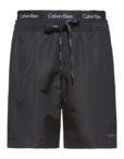Calvin Klein - Badeshorts Double Waistband Black | Gate 36 Hobro |