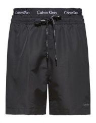 Calvin Klein – Badeshorts Double Waistband Black | Gate 36 Hobro |