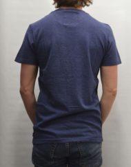 Superdry T-Shirt - Shirt Shop Fade Tee Blue Marl
