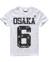 Superdry T-Shirt – Osaka Splatter Optic White | GATE 36 HOBRO