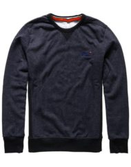Superdry Sweat – Orange Label Crew Midnight Marl Twill | GATE 36 HOBRO