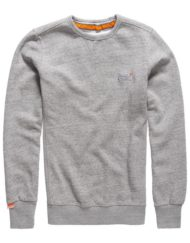 Superdry Sweat - Orange Label Crew Pearl Grey Grit | GATE 36 HOBRO
