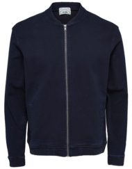 Only & Sons Jakke – Decjer Bomber Jacket Dark Blue Denim