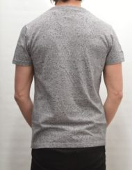 Superdry T-Shirt - Osaka Splatter Grey Grit