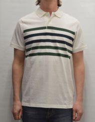 Samsøe Samsøe Polo T-shirt – Banner Polo S/S Blanc De Blanc