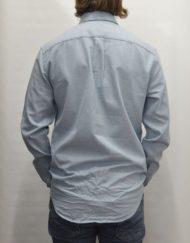 Samsøe Samsøe Skjorte - Liam Prov Blue White