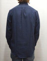Samsøe Samsøe Skjorte - Liam NF 7657 Dark Sapphire Mønstret