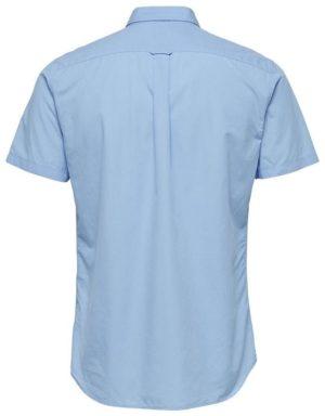 16057321 Selected Skjorte - SHHONELOUIS SS LIGHT BLUE | GATE 36 HOBRO