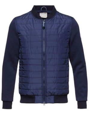 Knowledge Cotton Apparel Quilted Jacket w/Double Face Sleeves | GATE 36 HOBRO