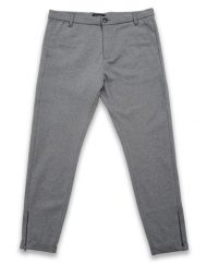 GABBA - PISA JERSEY PANT LIGHT GREY MEL | GATE 36 Hobro