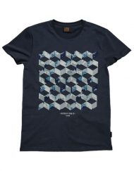 Gabba T-Shirt – Clifton Hide Navy | Gate 36 Hobro |