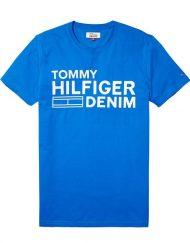 DM0DM02192419 HILFIGER DENIM – LOGO T-SHIRT Blue/White | GATE 36 HOBRO
